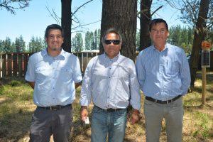 Cristián Briones, Eduardo Pizarro y Gabriel Briones