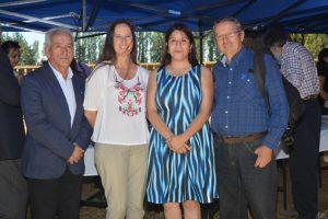 Rafael Cifuentes, Margarita Celis, Paula Cifuentes y Juan Quezada